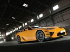 Lexus LFA Technical specifications and fuel economy