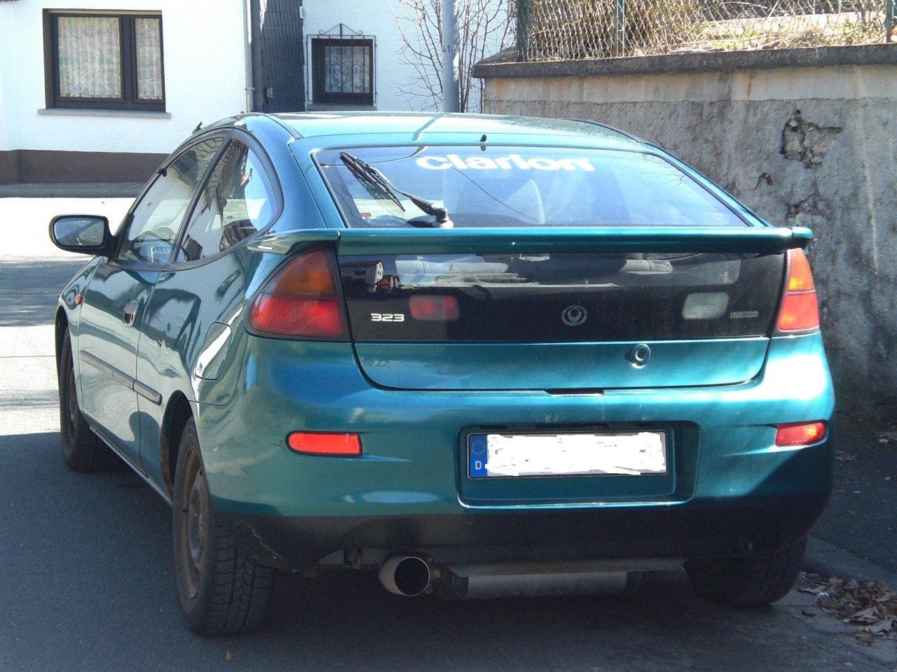 Mazda 323 C V (BA) 1.5 i 16V (87 Hp)