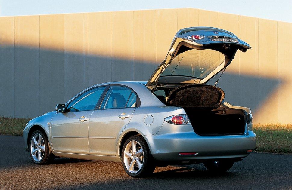 mazda 6 i hatchback (gg) 2.0 (141 hp) automatic