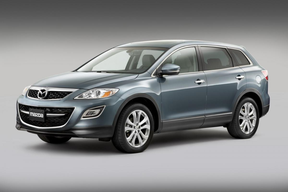 mazda cx 9 technical specifications and fuel economy. Black Bedroom Furniture Sets. Home Design Ideas
