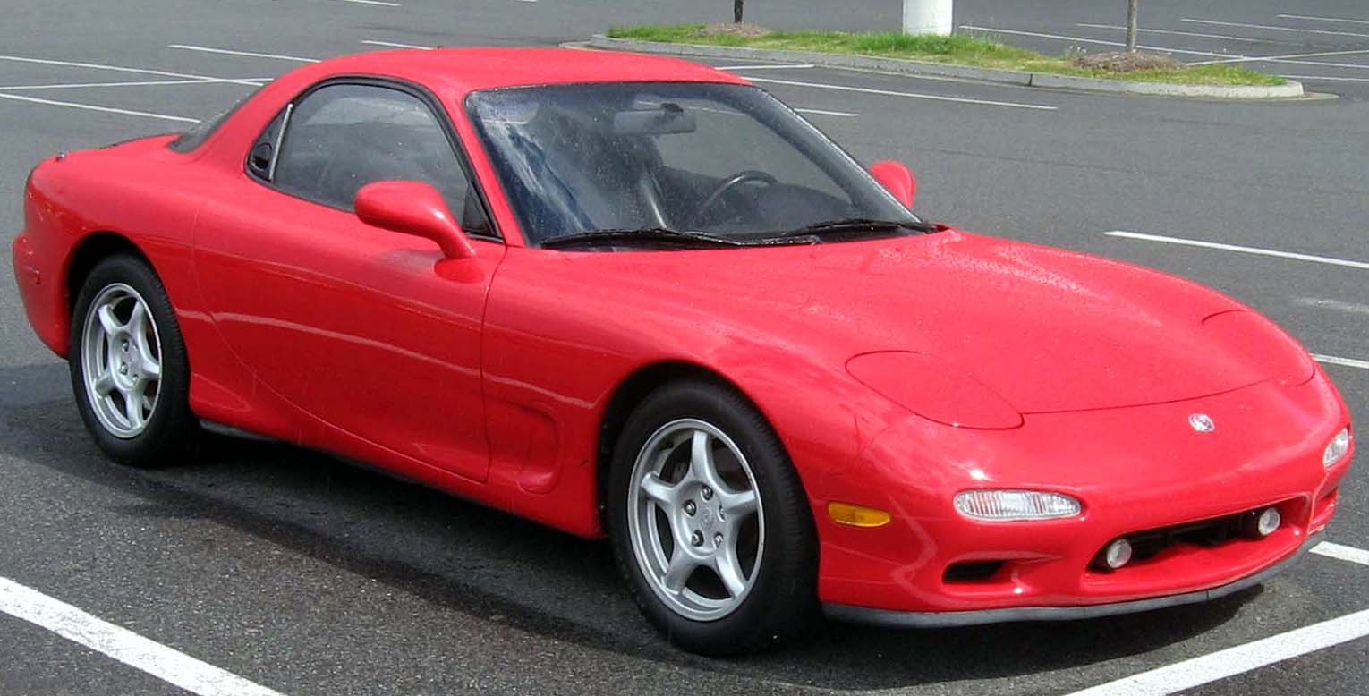 Mazda Rx 7 Technical Specifications And Fuel Economy 1987 Engine Diagram Iv