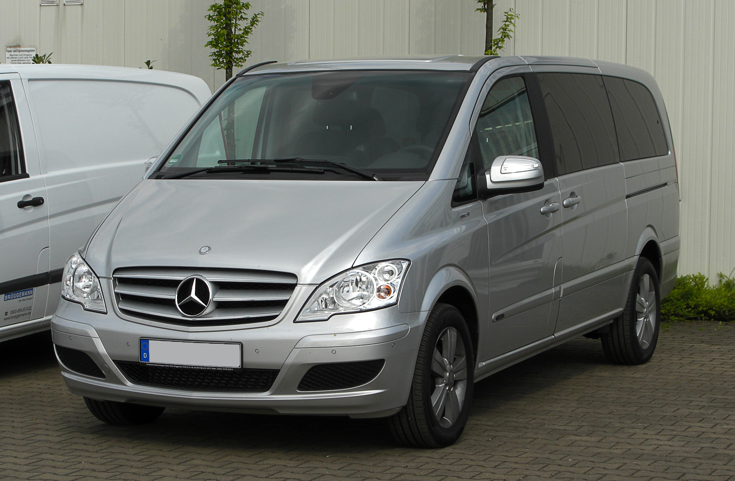 Mercedes-Benz  Viano (W639 facelift 2010)  CDI 2.2 (163 Hp)