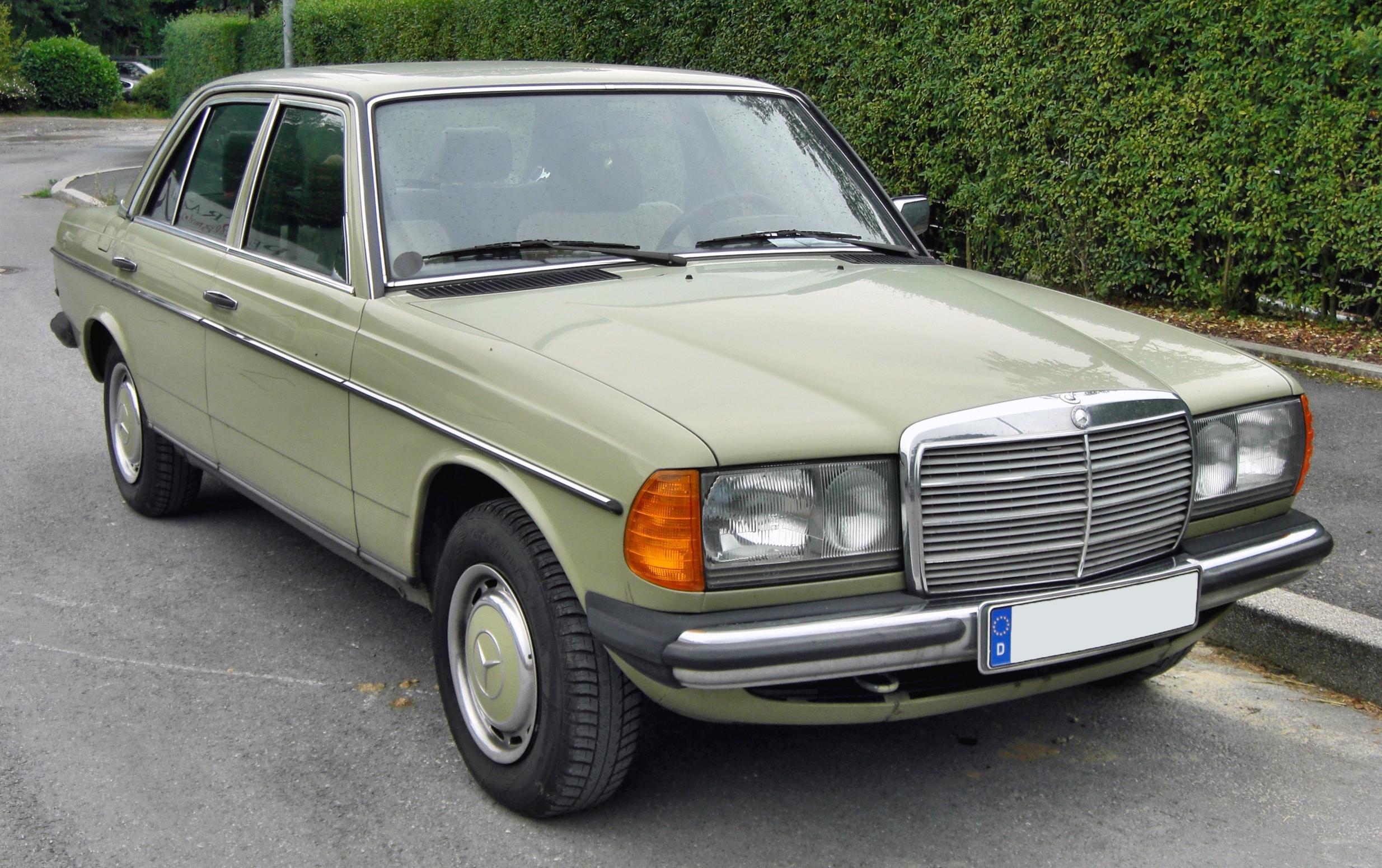 Mercedes Benz 200 W123 200 D 60 Hp