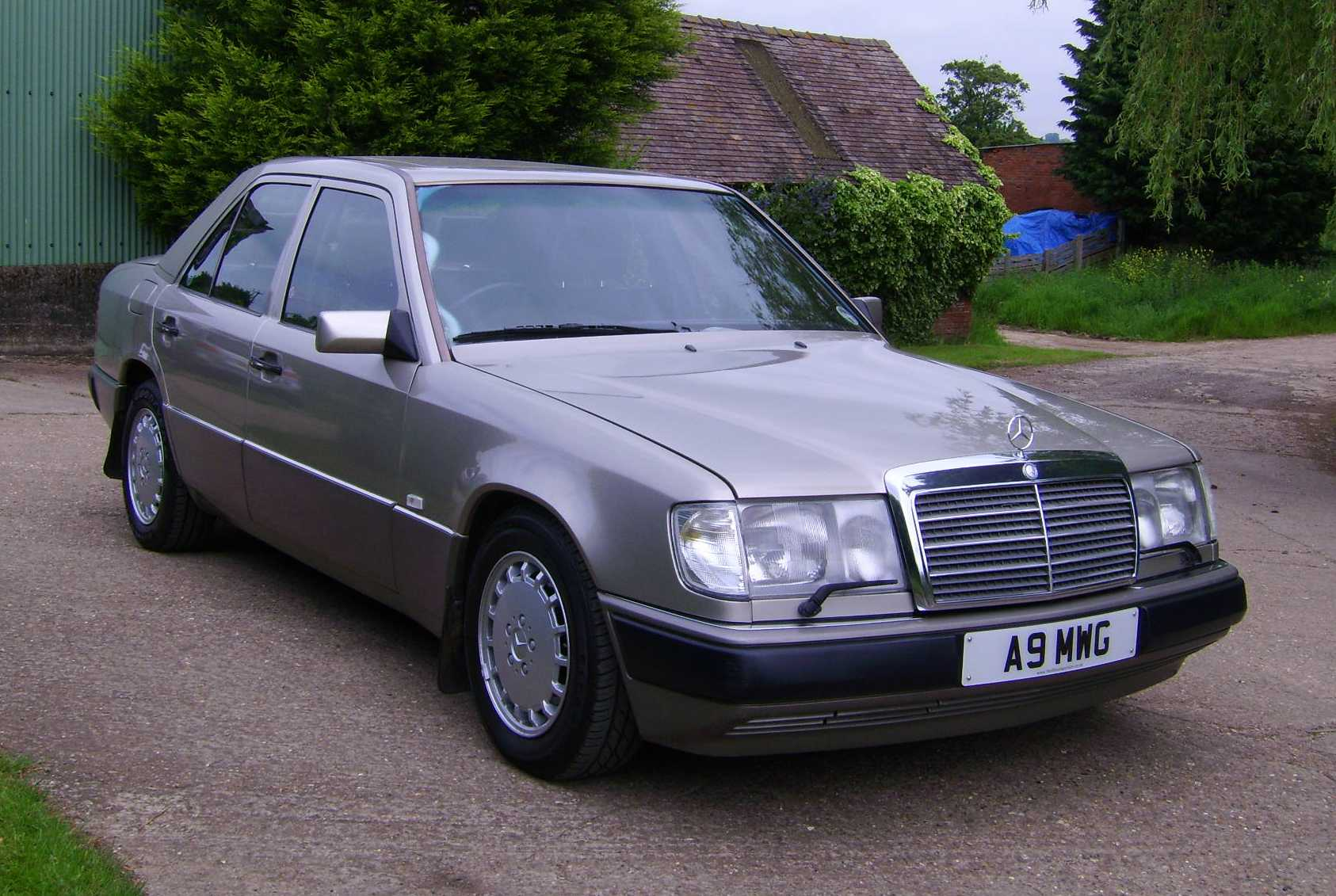 mercedes benz 200 w124 200 e 122 hp