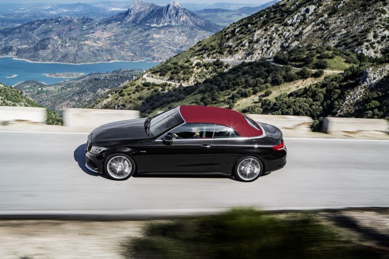 Mercedes benz c class cabriolet a205 c 220d 170 hp for Mercedes benz c350 horsepower