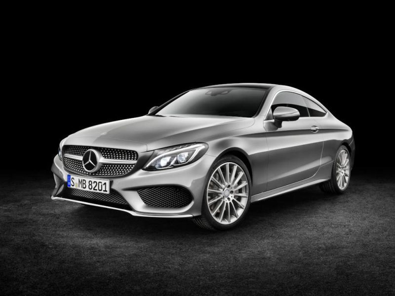 Mercedes benz c class coupe c205 amg c 43 367 hp 4matic g tronic - Mercedes c class coupe 4matic ...