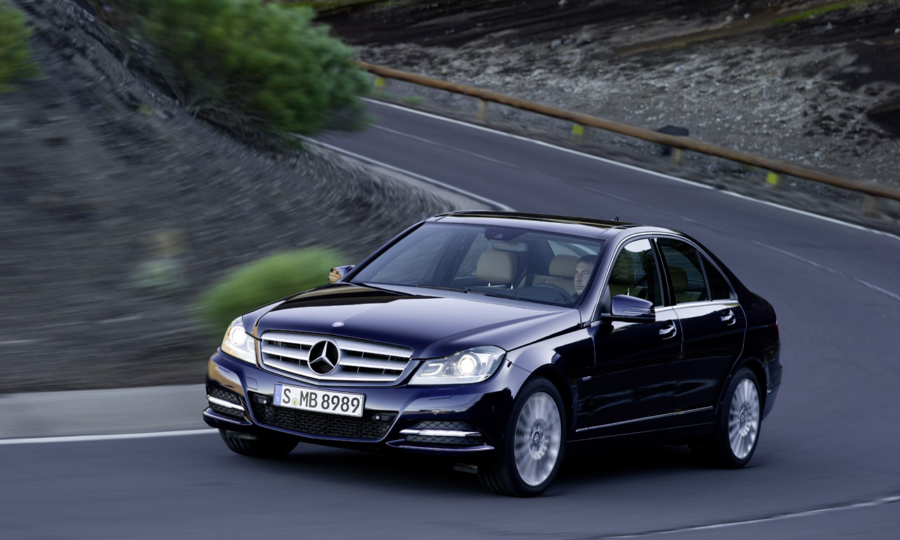 mercedes benz c class w204 facelift 2011 c 180 156 hp. Black Bedroom Furniture Sets. Home Design Ideas