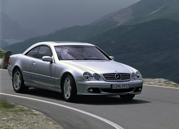 mercedes benz cl c215 amg cl 55 500 hp. Black Bedroom Furniture Sets. Home Design Ideas
