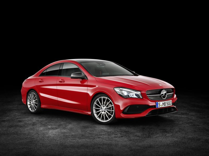 mercedes benz cla coupe c117 facelift 2016 cla 250 218
