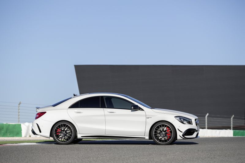 mercedes benz cla coupe c117 facelift 2016 cla 250 218 hp sport 4matic dct. Black Bedroom Furniture Sets. Home Design Ideas