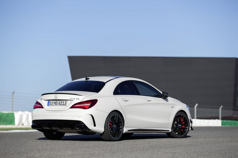 mercedes benz cla coupe c117 facelift 2016 cla 180d 109 hp. Black Bedroom Furniture Sets. Home Design Ideas