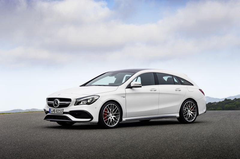 mercedes benz cla shooting brake x117 facelift 2016 cla. Black Bedroom Furniture Sets. Home Design Ideas