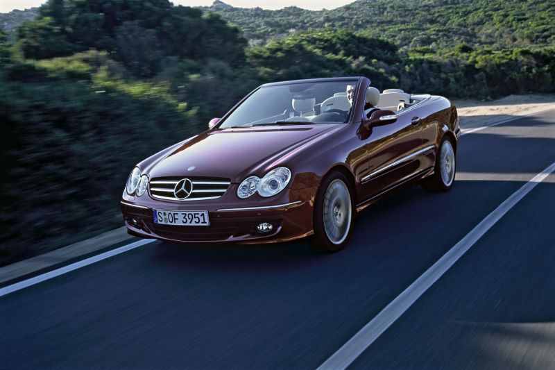 mercedes benz clk a 209 facelift 2005 clk 320 cdi 224 hp. Black Bedroom Furniture Sets. Home Design Ideas