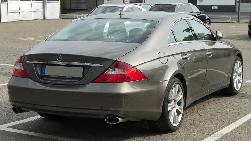 Mercedes benz cls coupe c219 cls 500 388 hp g tronic for 500 hp mercedes benz