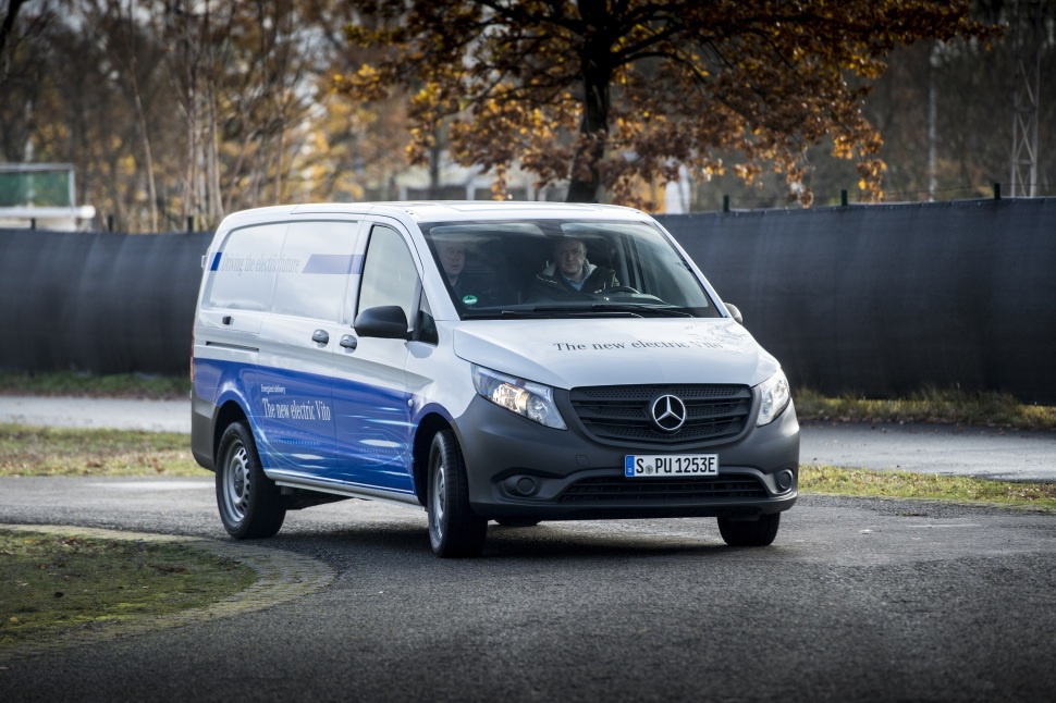 Mercedes-Benz V-class technical specifications and fuel ...