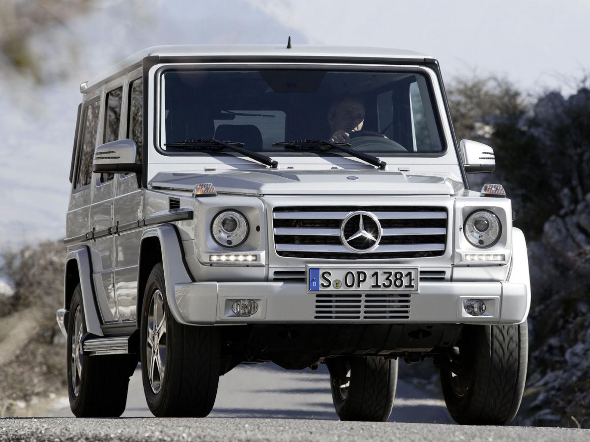 mercedes benz g class w463 g 500 296 hp
