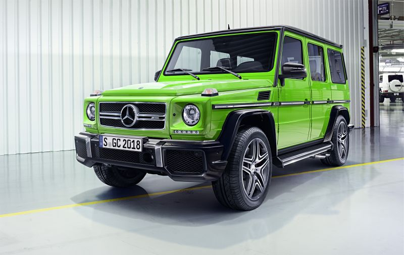 Mercedes Benz G Class W463 Facelift 2015 G 350d 245 Hp