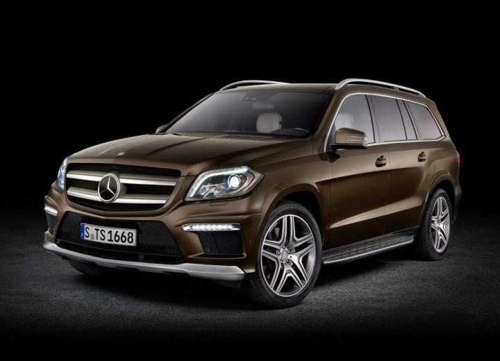 Mercedes benz gl x166 gl 500 435 hp 4matic g tronic for 500 hp mercedes benz