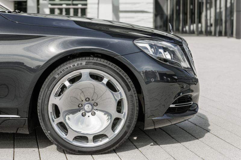mercedes-benz maybach s-class (w222) s 600 v12 (530 hp) g-tronic