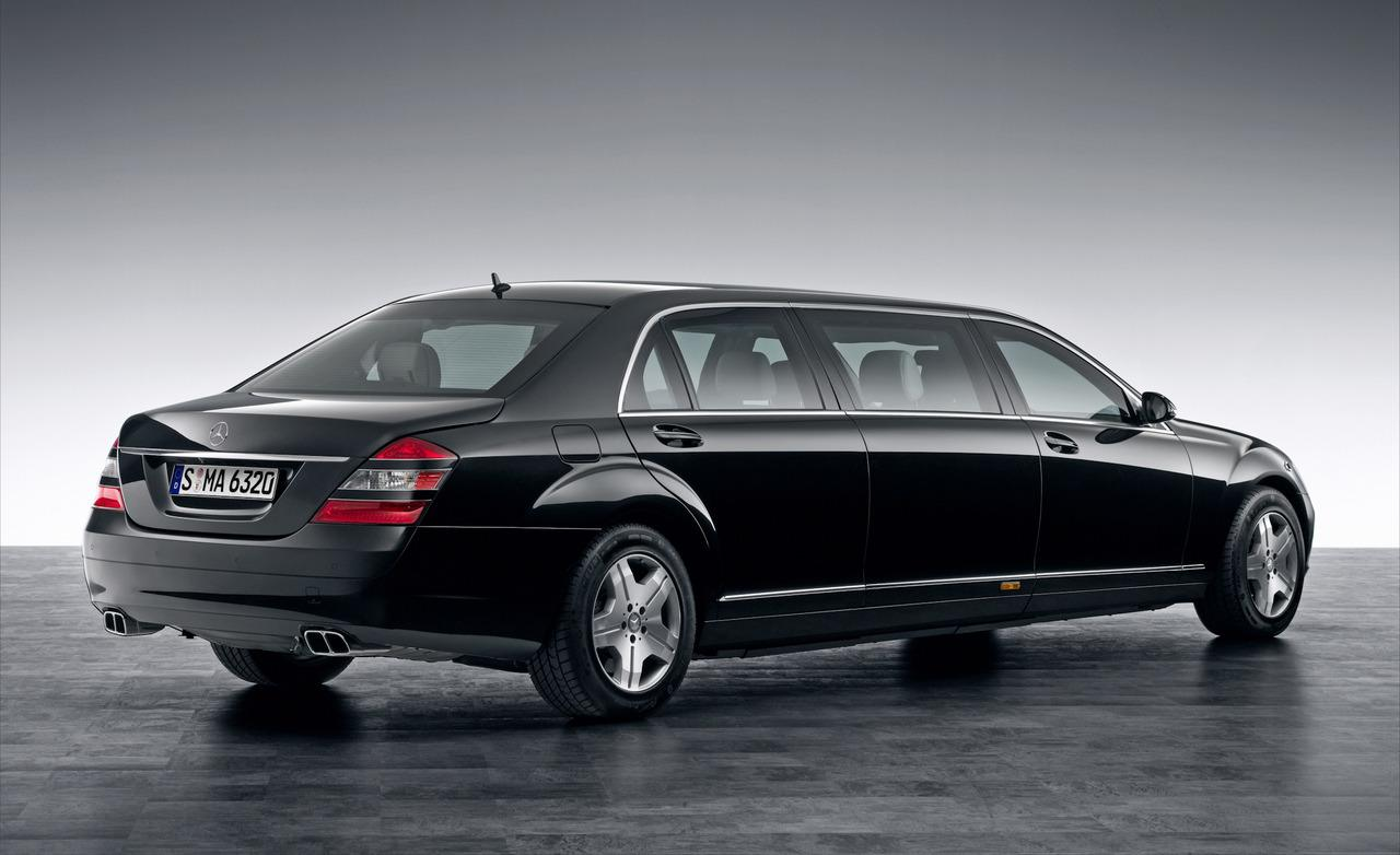 Mercedes benz pullmann technical specifications and fuel for Mercedes benz gas mileage