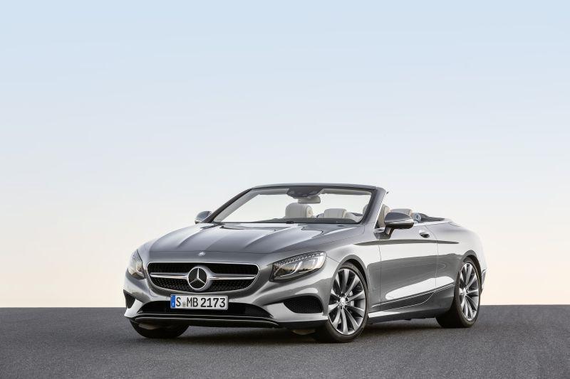Mercedes benz s class cabriolet a217 s 500 v8 456 hp g for 500 hp mercedes benz