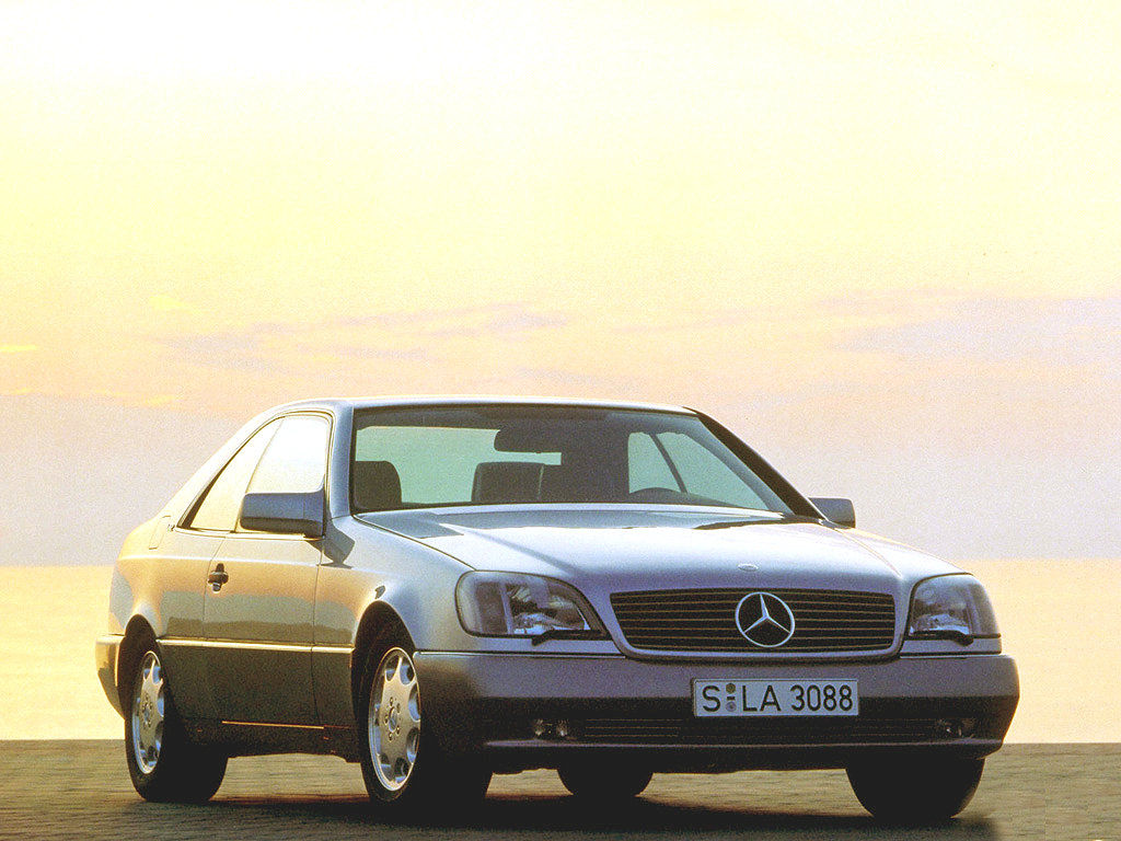 Mercedes benz s class coupe c140 sec cl 420 for Mercedes benz s 420