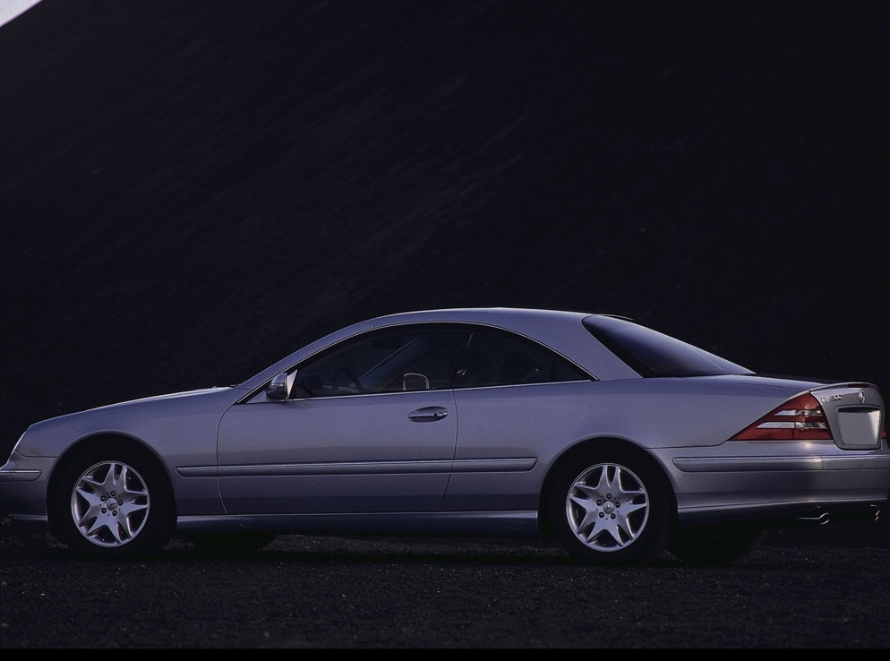 Mercedes benz s class coupe c215 cl 600 367 hp for Mercedes benz s class 600