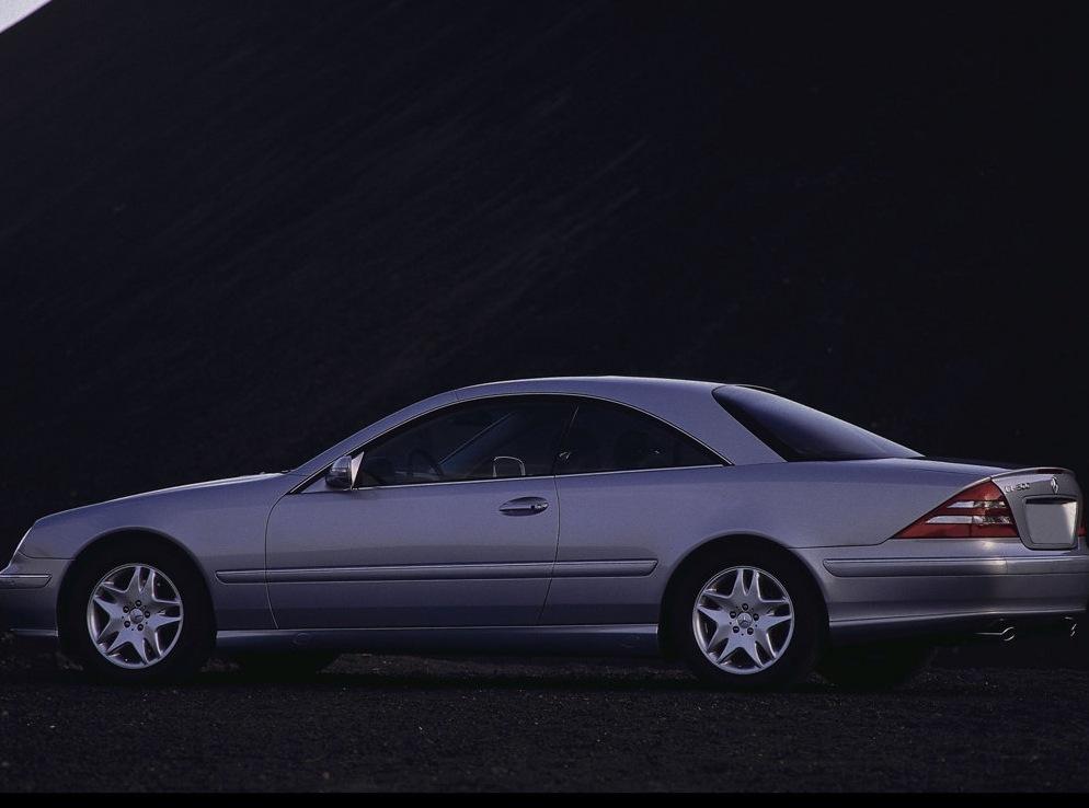 Mercedes benz s class coupe c215 cl 600 367 hp for Mercedes benz s class 600