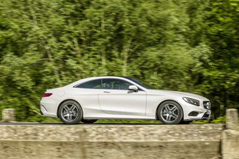 Mercedes benz s class coupe c217 s 500 455 hp g tronic for 500 hp mercedes benz