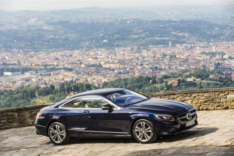 Mercedes benz s class coupe c217 s 400 367 hp 4matic g for 500 hp mercedes benz