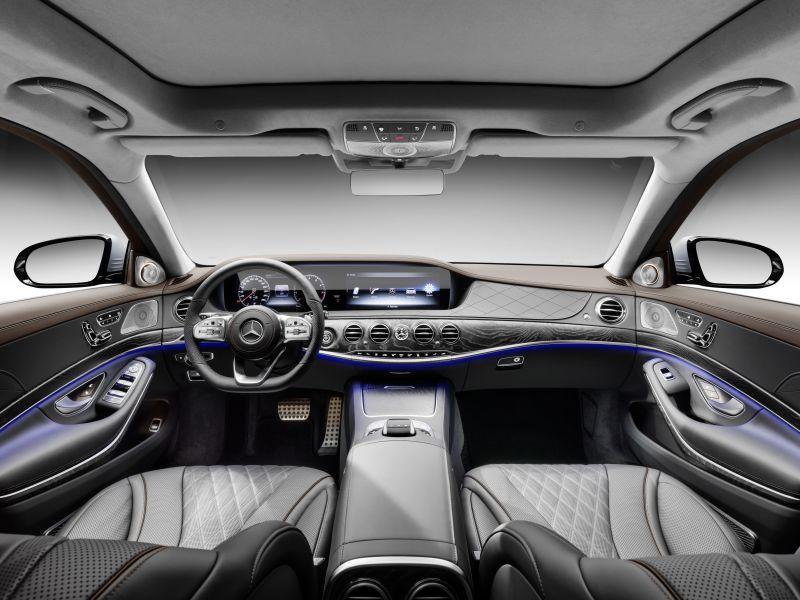 mercedes-benz s-class long (w222, facelift 2017) s 350d (286 hp