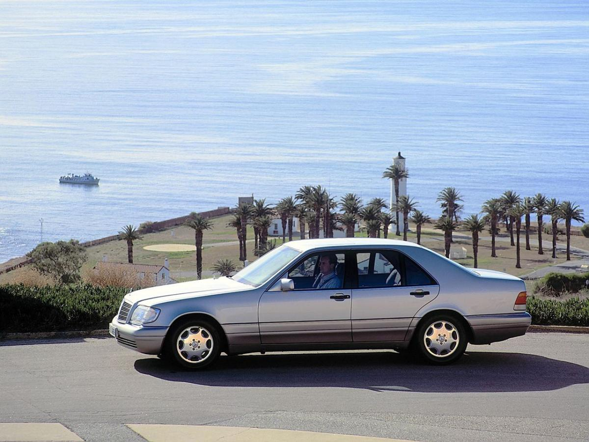 Benz s class w140 600sel or s600 m120 394 hp w140 information - Resimleri Mercedes Benz S Class W140 S 600 L