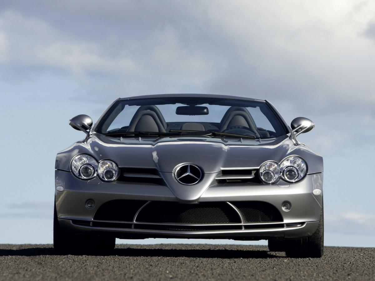 Mercedes Benz Slr Mclaren Technical Specifications And Fuel Economy