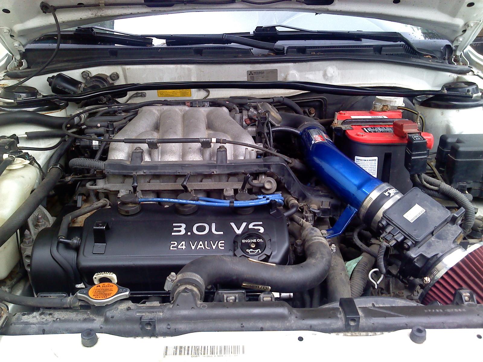 Mitsubishi Galant VII 2.0 24 V V6 T (240 Hp)