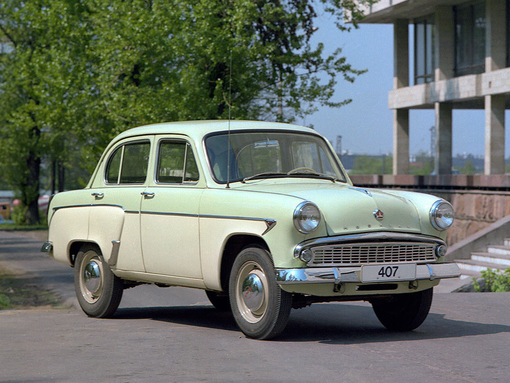 Moskvich 407 Technical Specifications And Fuel Economy