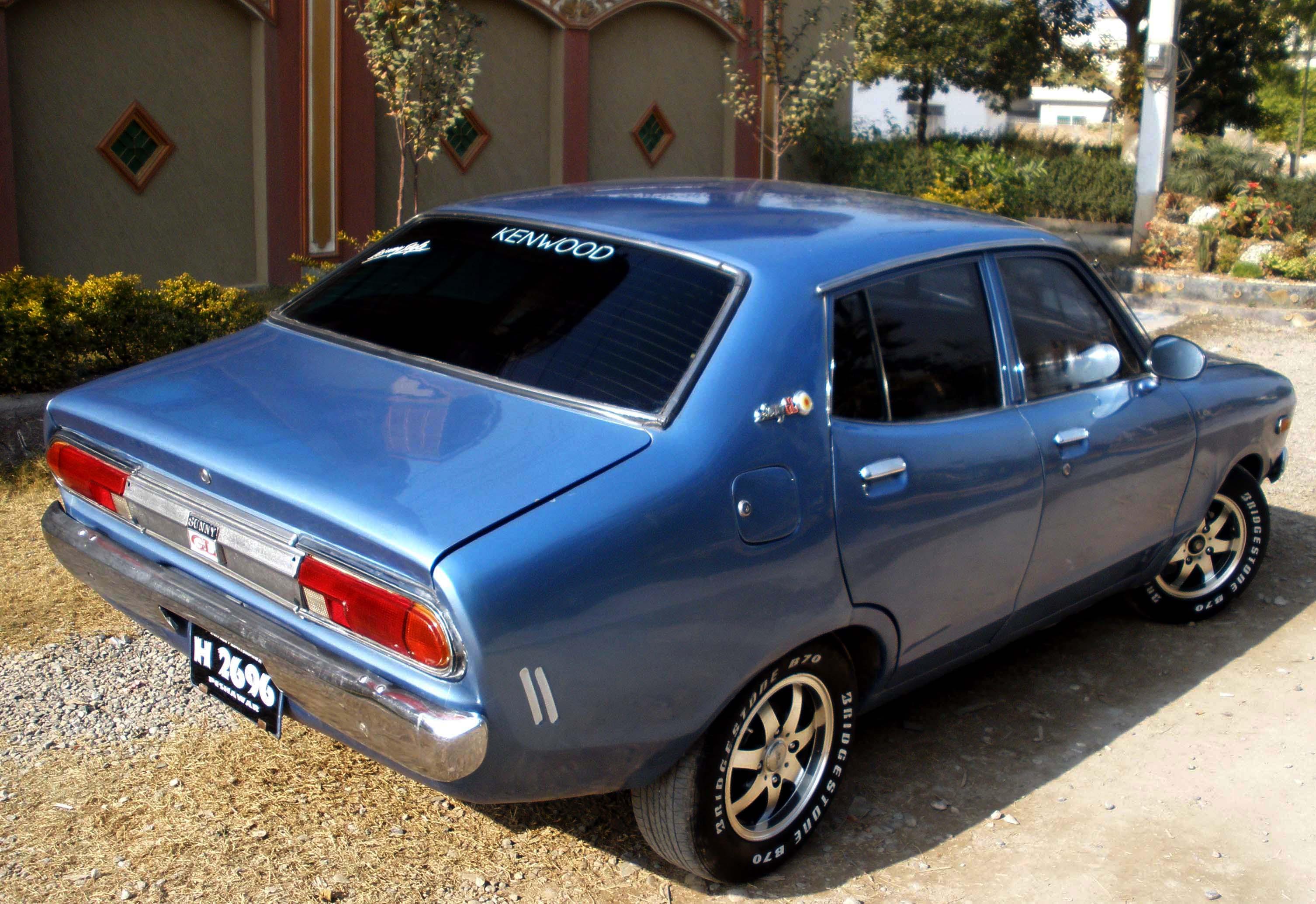 Type Of Car Oil >> Nissan Datsun 120 Y 1.2 (B210) (52 Hp)