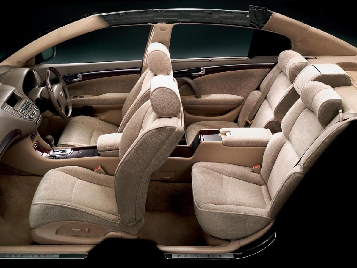 Nissan President Technical specifications and fuel economy (consumption, mpg