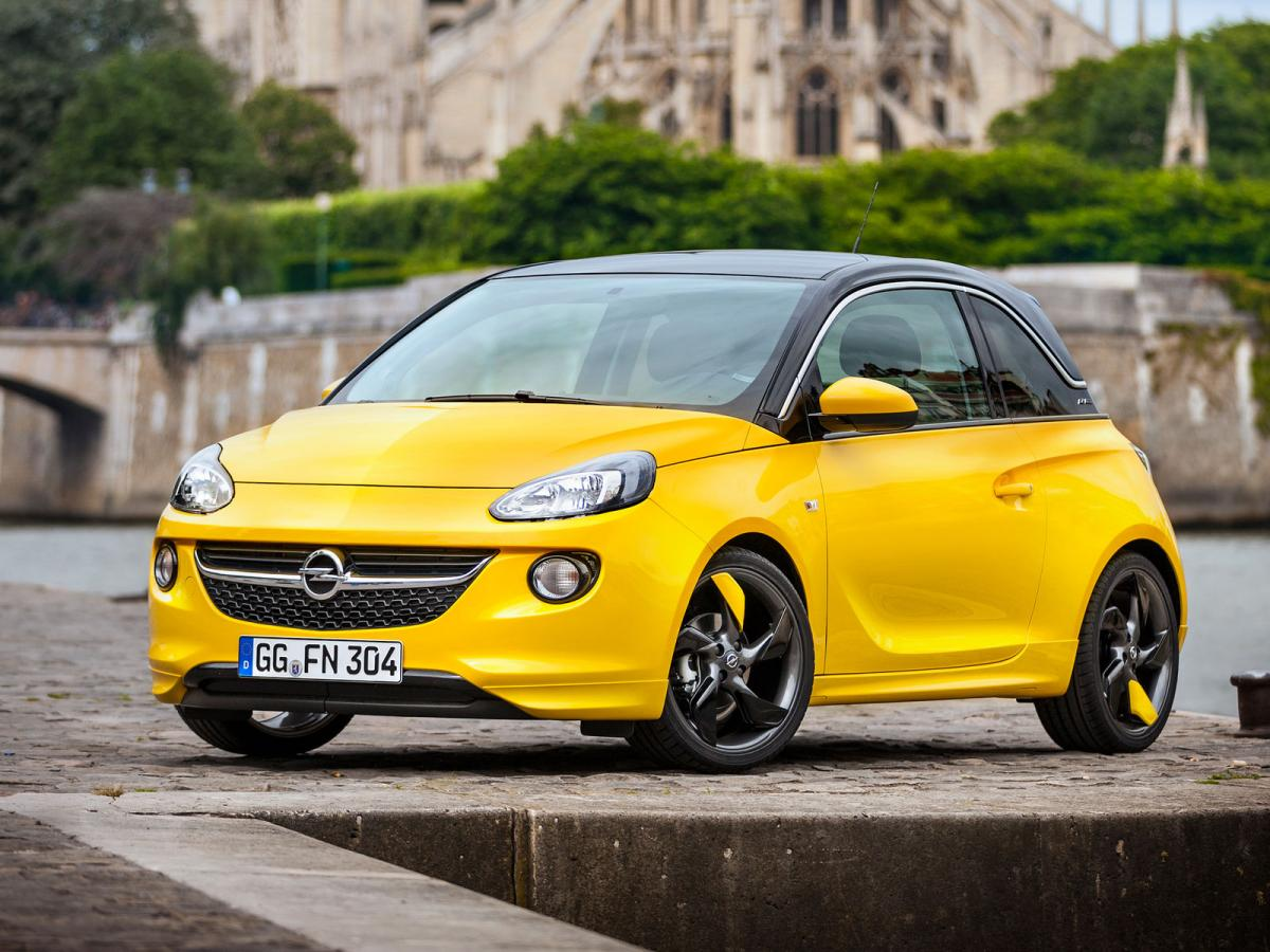 opel adam technical specifications and fuel economy. Black Bedroom Furniture Sets. Home Design Ideas