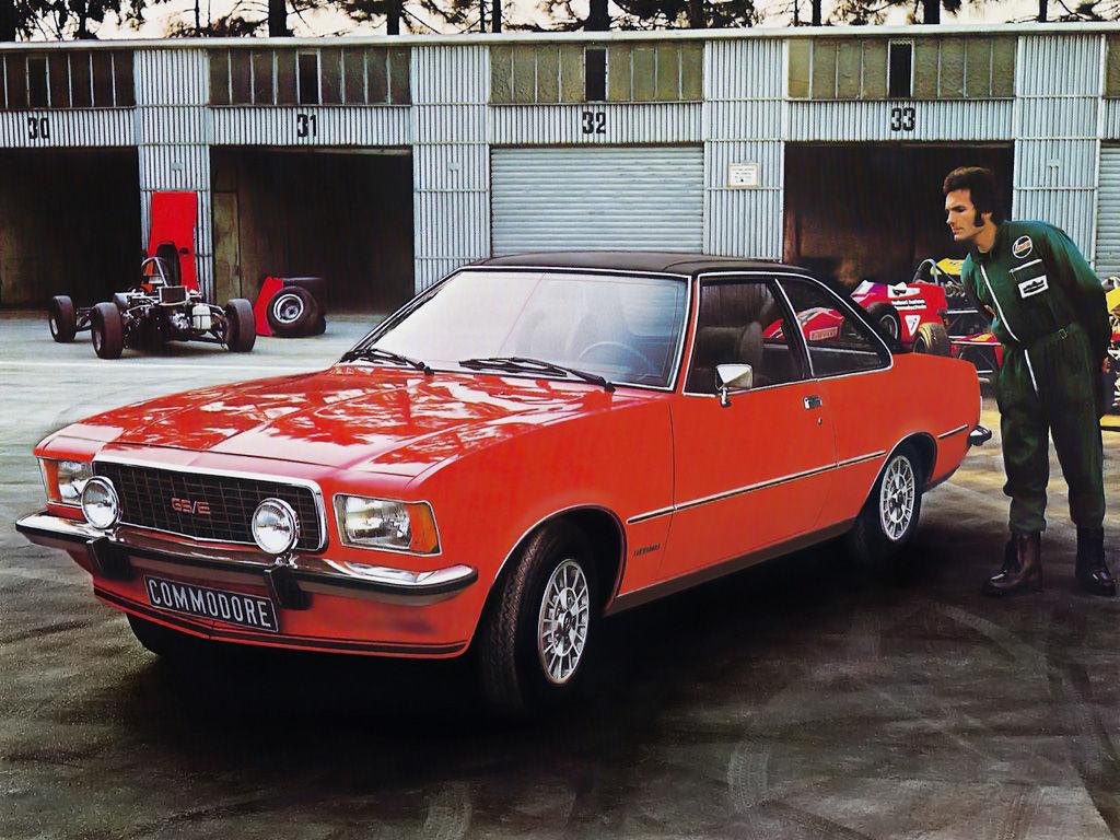 Opel Commodore B Coupe 2 8 Gs E 160 Hp
