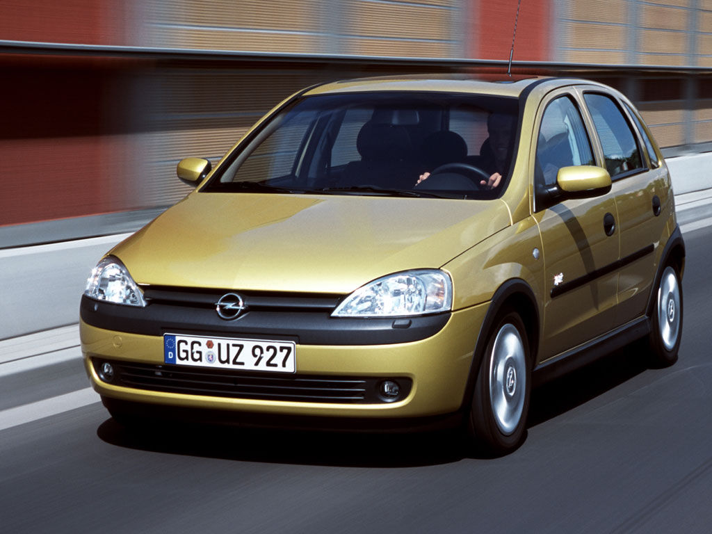 Opel Corsa C 1.6 I OPC (175 Hp) Technical Specifications