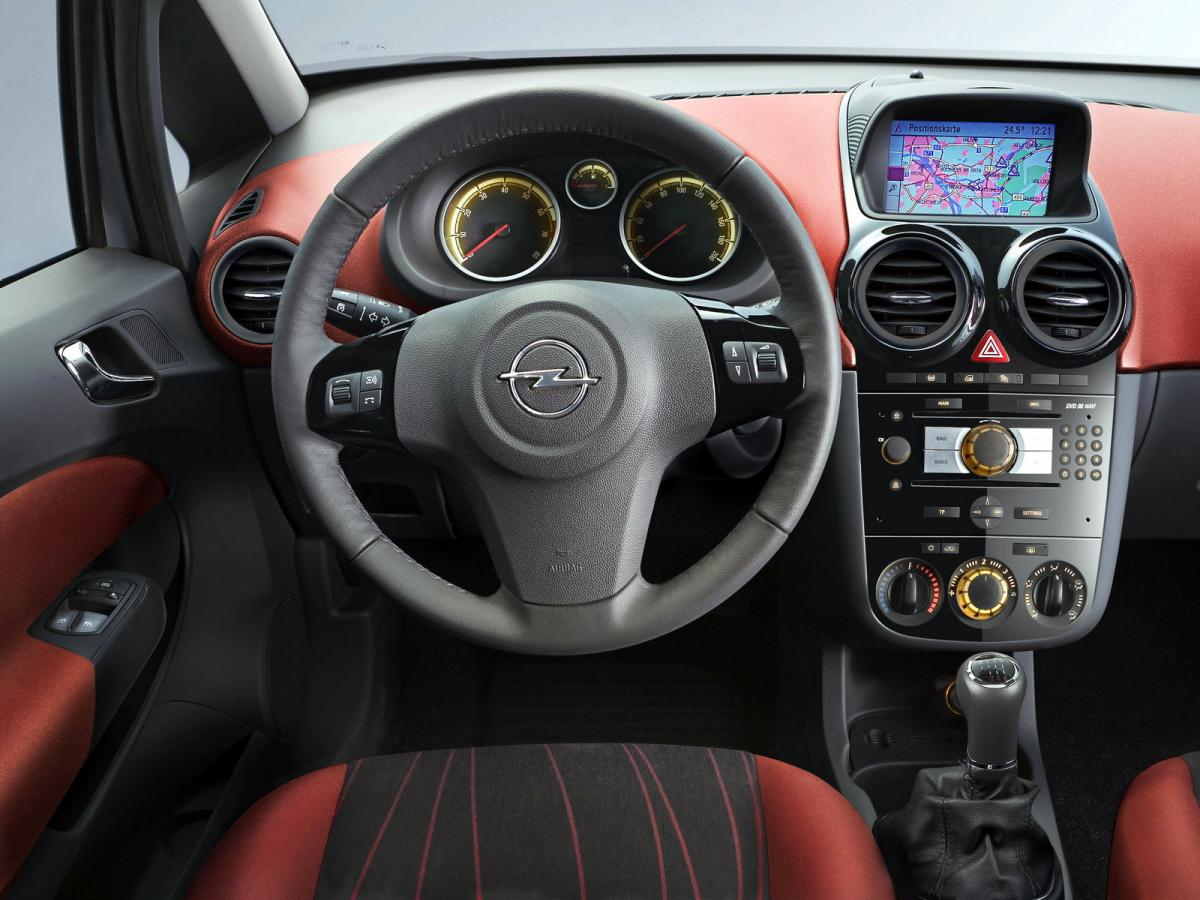Opel corsa sp cifications techniques et conomie de carburant for Opel corsa e interieur