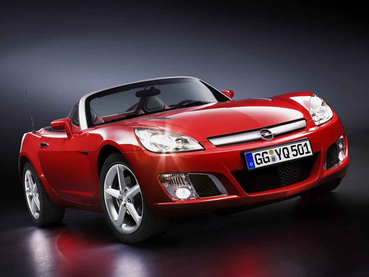 Opel Gt Technical Specifications And Fuel Economy
