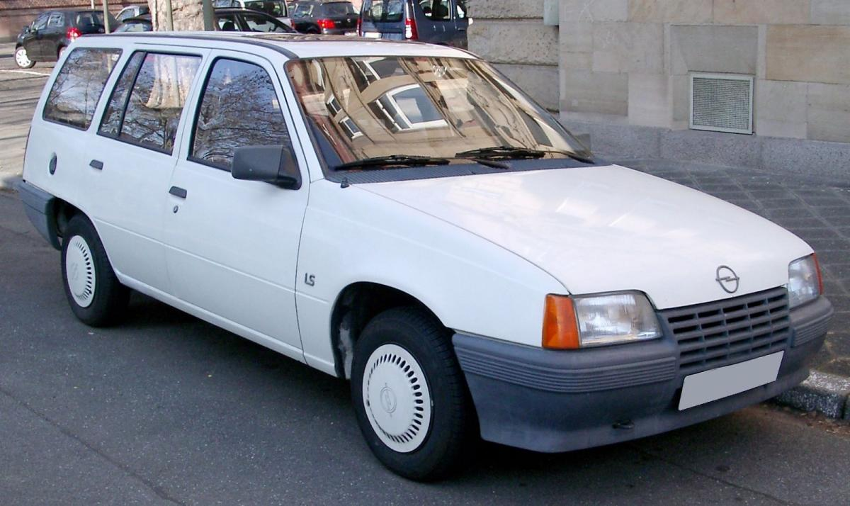 Opel Kadett technical specifications and fuel economy