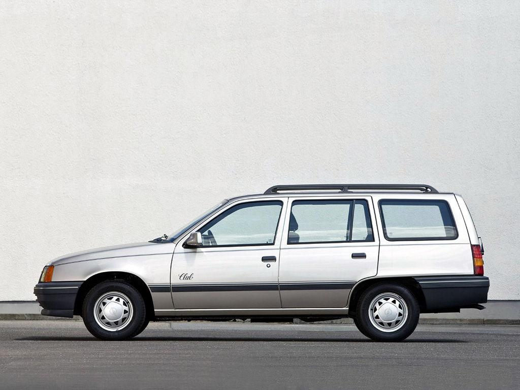Opel kadett technical specifications and fuel economy for Opel kadett e interieur