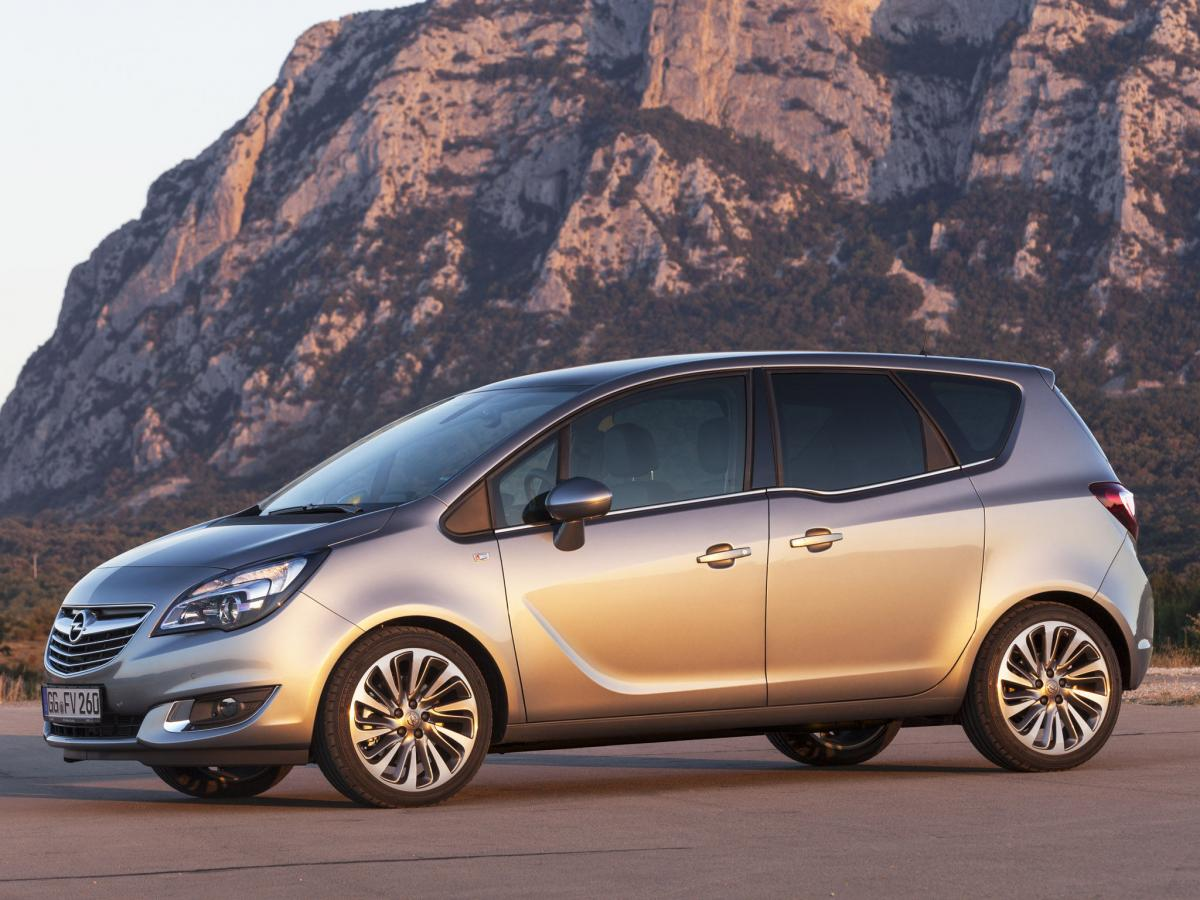 opel meriva technical specifications and fuel economy. Black Bedroom Furniture Sets. Home Design Ideas