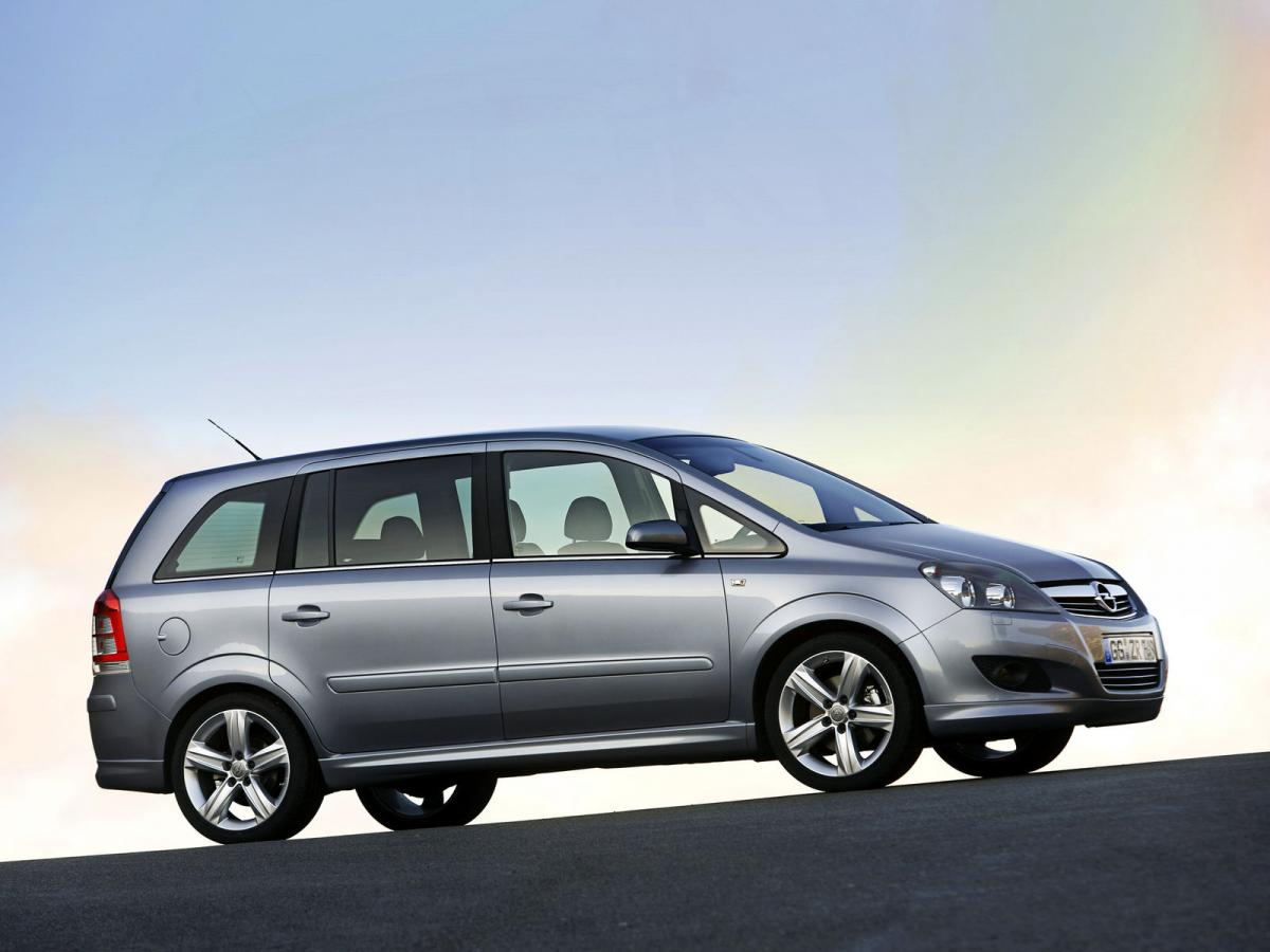 opel zafira technical specifications and fuel economy. Black Bedroom Furniture Sets. Home Design Ideas