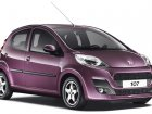 Peugeot 107 Technical specifications and fuel economy