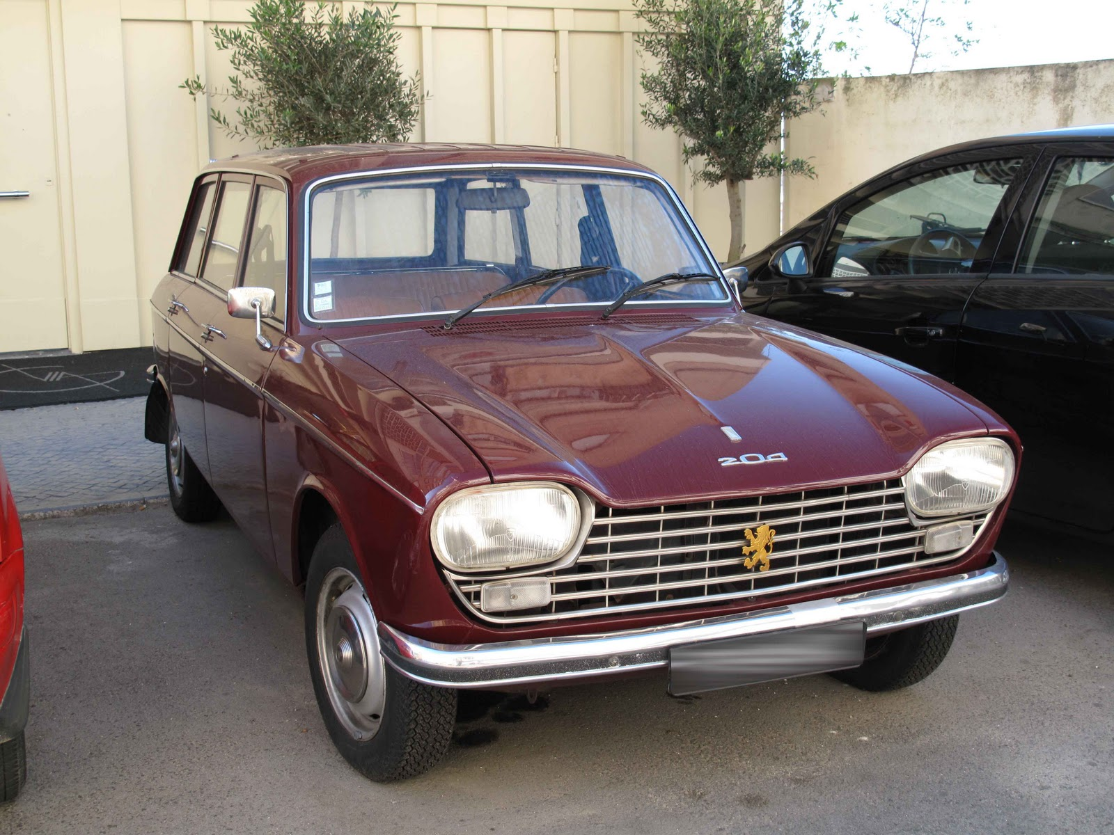 peugeot, 204, Cars, Classic, French, Sedan Wallpapers HD