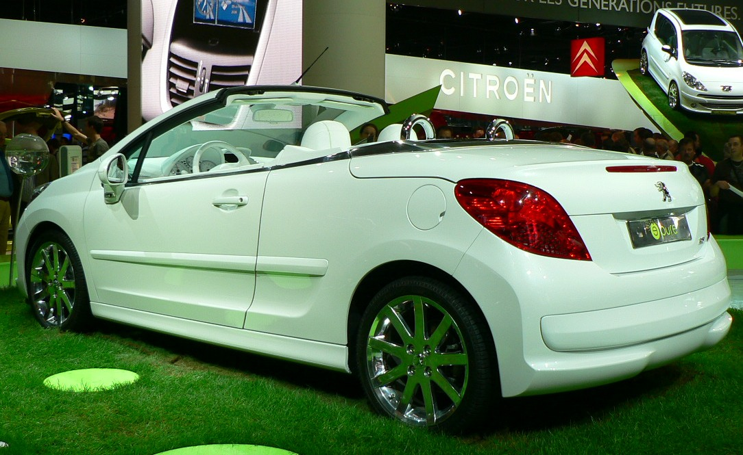Peugeot 207 spécifications techniques et économie de carburant
