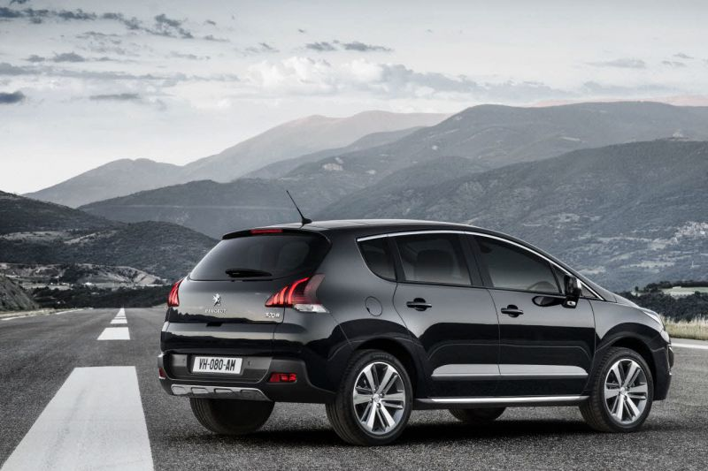 peugeot 3008 facelift 2013 1 6 bluehdi 120 hp automatic fap. Black Bedroom Furniture Sets. Home Design Ideas